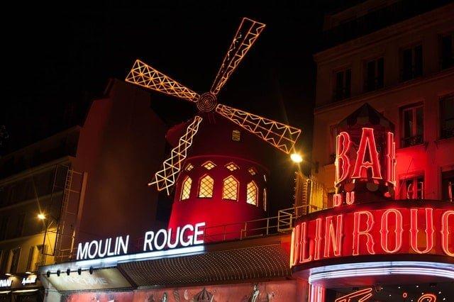 mouilin rouge paris seværdigheder