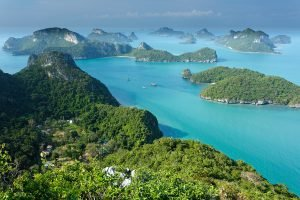 Paradisøer Thailand