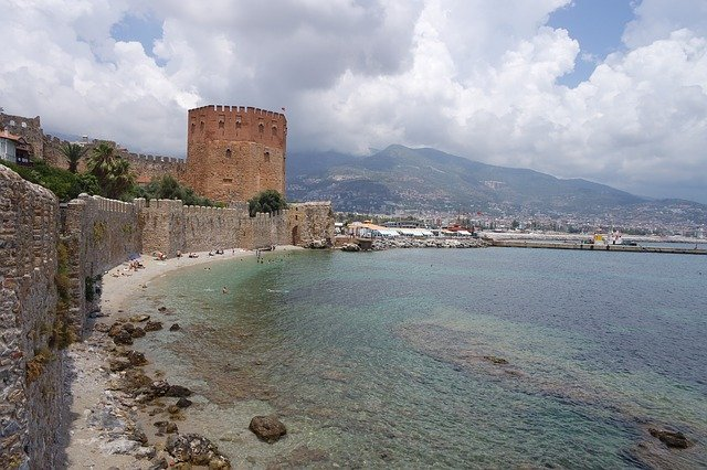 red tower alanya