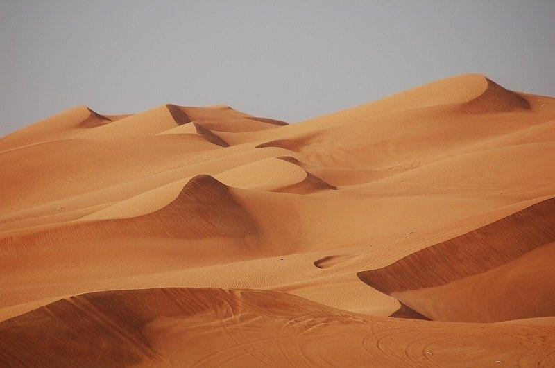 Guide til Dubai's ørken