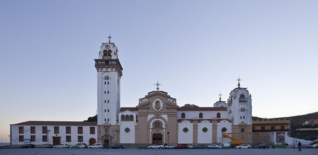 Basilikaen Vor Frue af Candelaria Tenerife seværdigheder