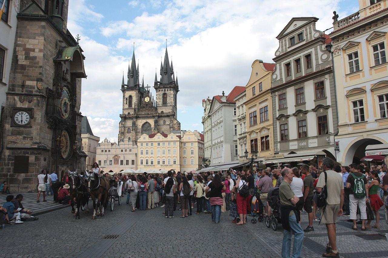 Gratis guidede byvandringer Prag seværdigheder