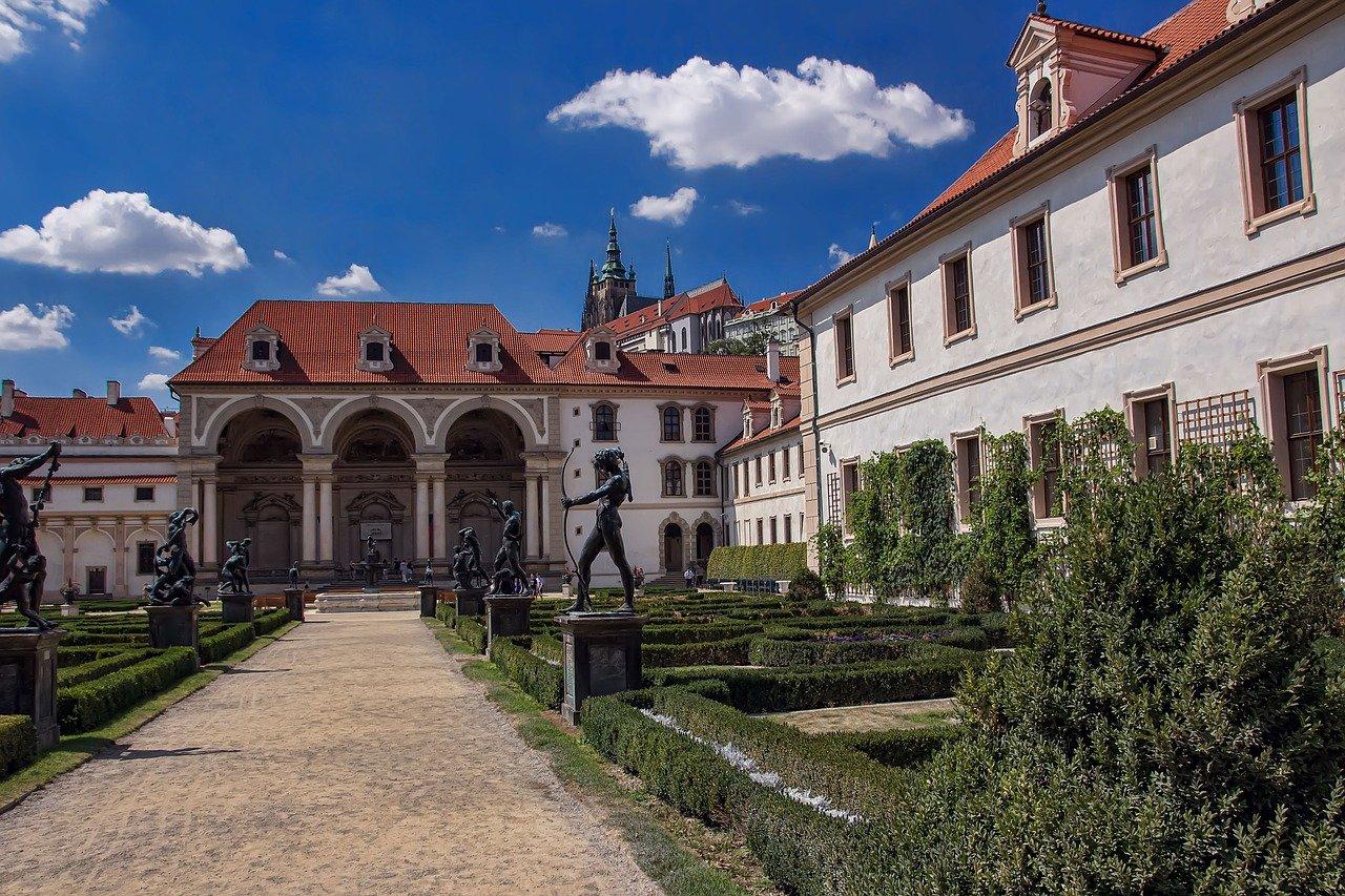 Wallenstein Slotshave Prag seværdigheder