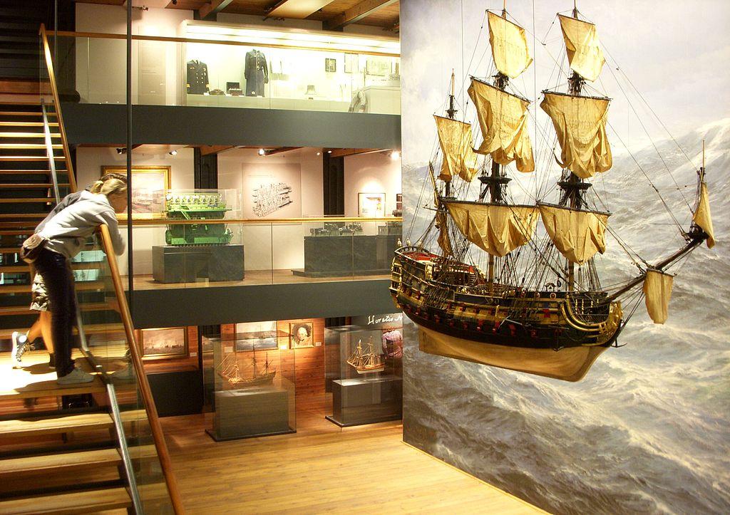Det Internationale Maritime Museum Hamburg seværdigheder