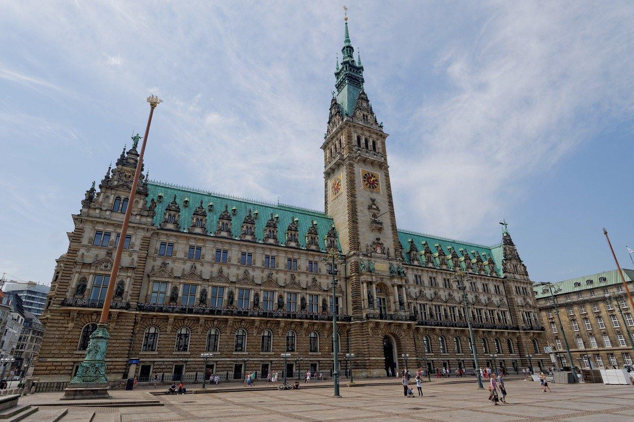 Town Hall Hamburg seværdigheder