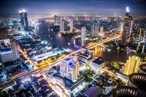 Fly til Bangkok