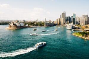 Rejser til Australien