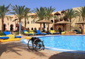 Kørestol og ferie